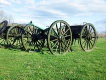 Canon et Cassion, champ de bataille national d'Antietam, le Maryland Photo libre de droits