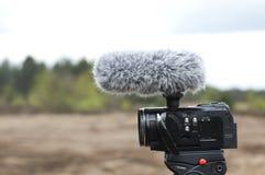 Canon filma la cámara Foto de archivo libre de regalías