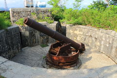Canon fort Stock Photography