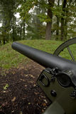 Canon, Fort Dickerson. Park, Knoxville, TN royalty free stock image