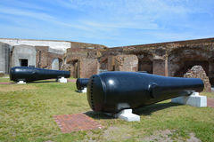 Canon-Fort Sumter royalty-vrije stock fotografie
