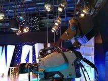 Canon HDGC camera in a television studio stock photo