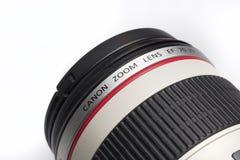 Canon lins Arkivfoton