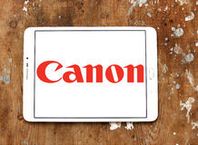 Canon logo Stock Photos