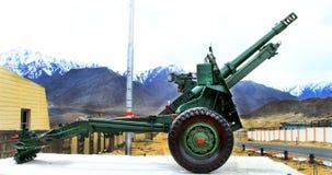 Canon militar Imagen de archivo libre de regalías