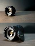 Canon 50mm E-F f/1 8 II Fotografie Stock
