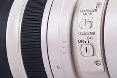 Canon 100-400mm tele zoomobjektiv Arkivbilder