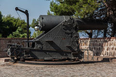 Canon in Montjuic Barcelona Royalty Free Stock Images