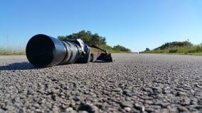 Canon in openlucht Stock Fotografie