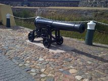 A Canon Outside The Castle of Good Hope stock photography
