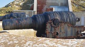 Canon. A photo of an old rusty canon Stock Photos