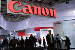 Canon at Photokina 2008 Royalty Free Stock Photos