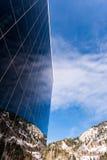 Canon profond de réflexion de ciel photo stock