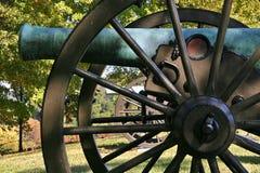 Canon-Räder Stockfoto