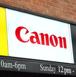 Canon Sign Royalty Free Stock Photos