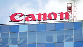 Canon sign Stock Image