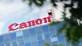 Canon sign Stock Photography