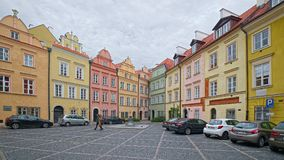Canon Square and Wishing Bell, Warsaw, Poland Stock Photos