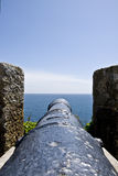 Canon at St Michaels Mount 2 Royalty Free Stock Photo