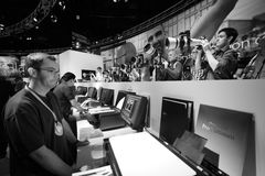 Canon stand in the Photokina Exhibition Royalty Free Stock Photos