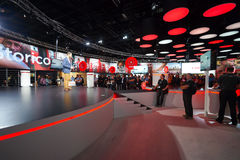 Canon stand in the Photokina Exhibition Royalty Free Stock Image