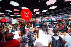 Canon stand in the Photokina Exhibition Stock Image