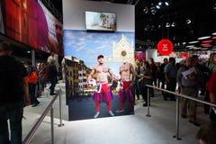 Canon stand in the Photokina Exhibition Stock Photos