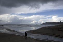 Canon strandvår Arkivfoton