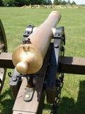 Canon twee van het brons Stock Afbeeldingen