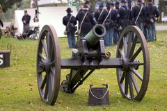Free Canon - Union Soldiers Stock Photo - 1276790