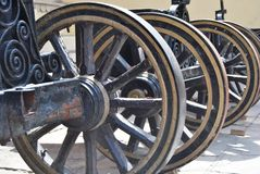 Canon wheels Royalty Free Stock Photo