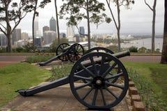 Canones de la ciudad Imagenes de archivo