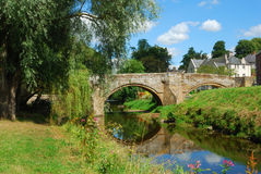 Canongate Bridge over Jed Water Stock Photography