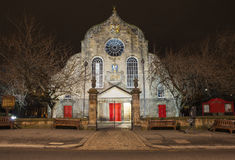 Canongate Kirk in Edinburgh Stock Images