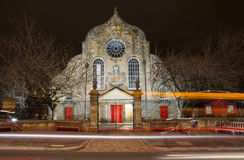 Canongate Kirk in Edinburgh Royalty Free Stock Photography