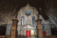 Canongate Kirk in Edinburgh Royalty Free Stock Photography