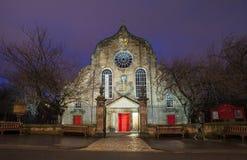 Canongate Kirk em Edimburgo imagem de stock royalty free