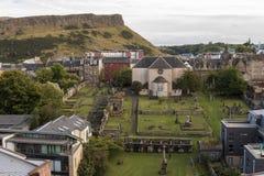Canongate kirk presbyterian church on Royal Mile Edinburgh stock images