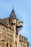 Canongate Tolbooth, ένα ιστορικό ορόσημο του Εδιμβούργου Στοκ Εικόνες