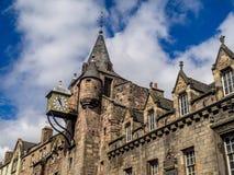 Canongate Tolbooth, Edinburgh Royalty-vrije Stock Foto's