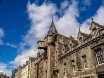 Canongate Tolbooth, Edinburgh Stock Afbeelding