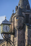 Canongate Toll Booth Clock, Royal Mile, Edinburgh, Scotland Stock Images