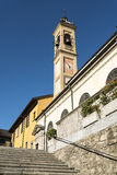 Canonica al Lambro, church Royalty Free Stock Image