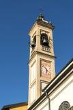 Canonica al Lambro, church Stock Photos