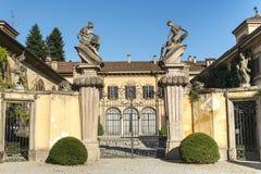 Canonica al Lambro (Italy) Stock Photography