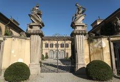 Canonica al Lambro (Italy) Stock Images