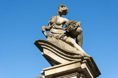 Canonica al Lambro (Italy) Royalty Free Stock Photos