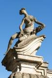 Canonica al Lambro (Italy) Royalty Free Stock Image