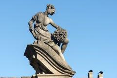 Canonica al Lambro (Włochy) Zdjęcie Royalty Free