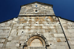 Canonica cathedrl in Corsica Stock Image